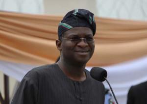 Lagos state governor Babatunde Fashola