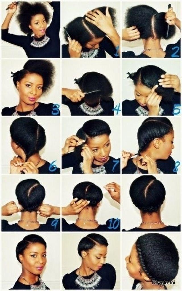 Easy diy natural hair styles 7