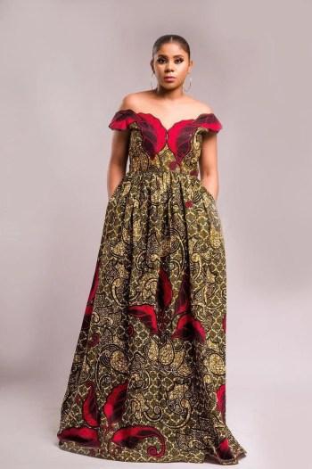 New stylist ankara maxi dresses