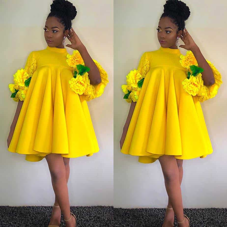 Stunning yellow dress styles; Yellow is the new black! 7