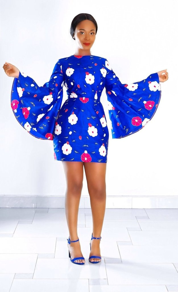 THE BEST ANKARA DRESS STYLES IN 2019 60