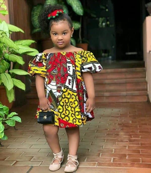 BEAUTIFUL ANKARA STYLES FOR KIDS 2019 7