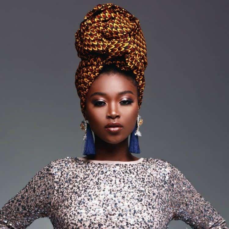 BEAUTIFUL AND STYLISH AFRICAN ANKARA HEAD WRAPS 5