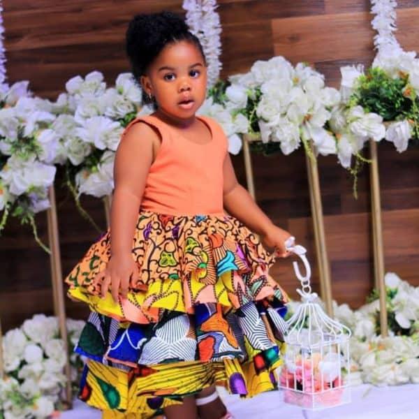 BEAUTIFUL ANKARA STYLES FOR KIDS 2019 8