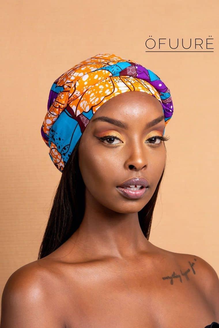 BEAUTIFUL AND STYLISH AFRICAN ANKARA HEAD WRAPS 12