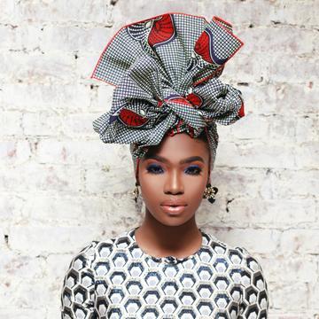 BEAUTIFUL AND STYLISH AFRICAN ANKARA HEAD WRAPS 9