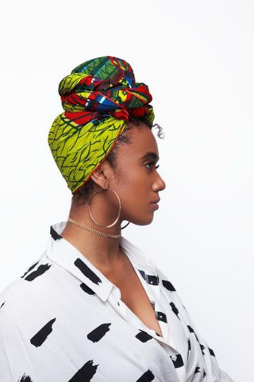 BEAUTIFUL AND STYLISH AFRICAN ANKARA HEAD WRAPS 3