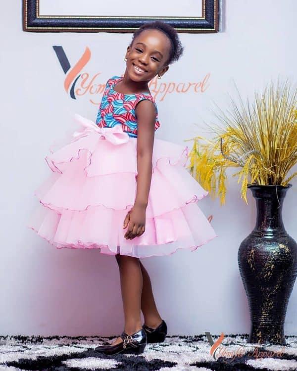BEAUTIFUL ANKARA STYLES FOR KIDS 2019 11