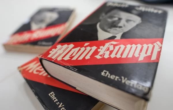 "Hitler's Book ""Mein Kampf"" Sold Out Immediately After Going On Sale In Germany"