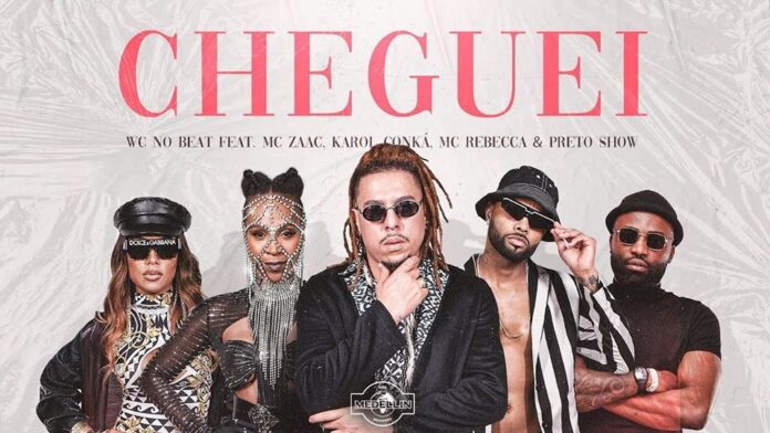 WC No Beat - Cheguei feat. Preto Show , Mc Zaac, Mc Rebecca e Karol Conká