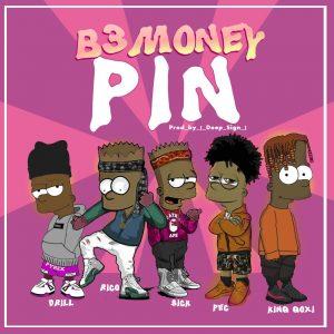 B3 Money - Pin