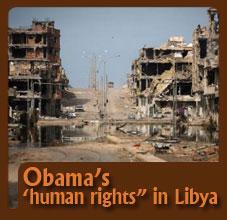 Obama Humanity In Libya
