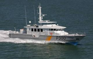Two new OCEA FPB 110 MK II Fast Patrol Boats delivered to the Nigerian Navy.