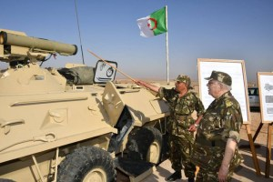 Algeria displays upgraded BTR 80 Armoured Personnel Carriers (APC)