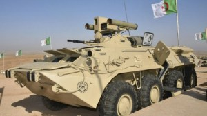 Algeria displays upgraded BTR-80 Armoured Personnel Carriers (APC)