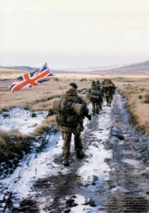 British troops in support of france Operation Barkhane in Africa