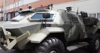 Caiman ARV being delivered to an African country