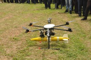 The Nigerian Air Force Hexacopter