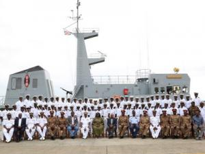 Kenyan Navy ship KNS Shujaa returns after refit