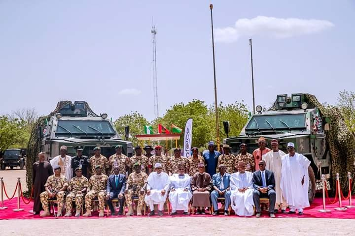 Army Day celebration 2018: Nigeria commissions 10 Proforce Ara MRAP, unveils homemade helicopter project