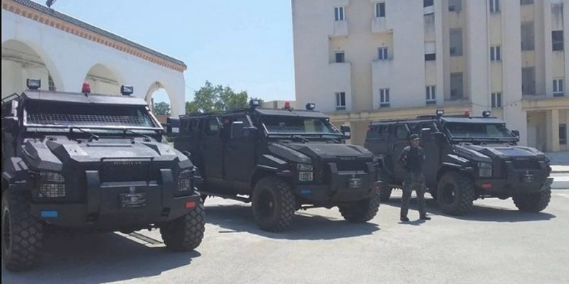 Tunisia receives donated Pitbull VX APC from the United States