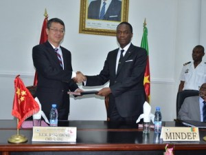 The Chinese government has signed a military assistance agreement with Cameroon, the agreement includes a donation of CFA4.5 million (USD8 million) to Cameroon's military for the purchase of military equipment.