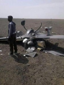 a nigerian air force ch-3 drone carrying a pair of ar-1 missile crashed in borno state