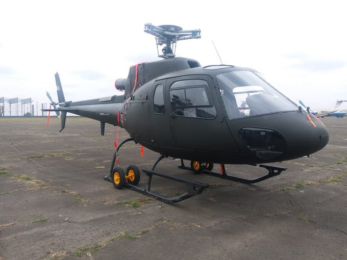 Kenyan Air Force aqcuires eight AS350 Fennec helicopters from UAE