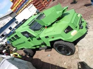 Cameroonian Armed Forces tygra APC