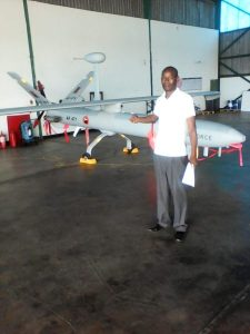 zambian air force hermes 450 uav