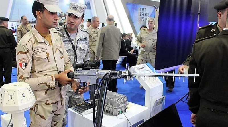 EDEX 2018 Egyptian made anti-drone rifle (credits: Egyptian MOD)