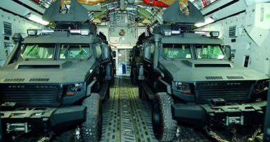Qatar delivers 24 Storm 4x4 to Mali