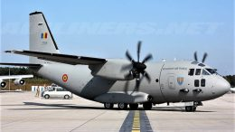 Romanian Air Force C-27j spartan plane