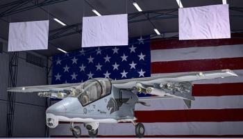 Bronco II light attack aircraft returns for US Special Ops Armed Overwatch mission