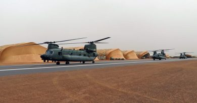 RAF Chinooks deployed to Mali reaches operational milestone