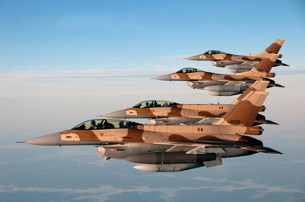 Raytheon awarded $212 million order for Moroccan F-16 engines