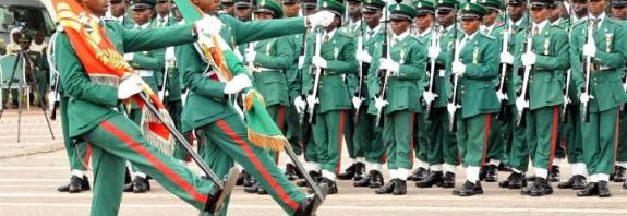 nigerian army ranks and salary official