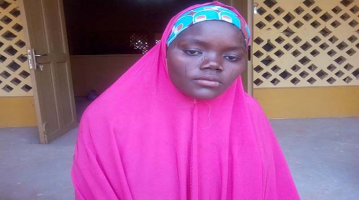 20-year old Naima Saleh, a pregnant mother fromKunshama, a very remote rural community in Kano state