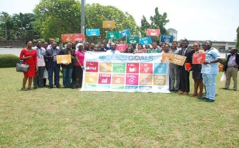 Members of the Nigerian Yiuth SDGs Network