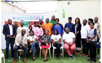 Youth participants at the roundtable on SDG16 organised by the Nigerian Youth SDGs Network