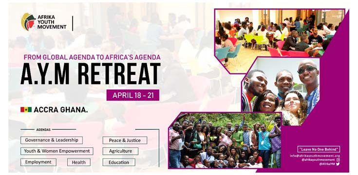Afrika Youth Movement's 2nd annual retreat underway in Accra