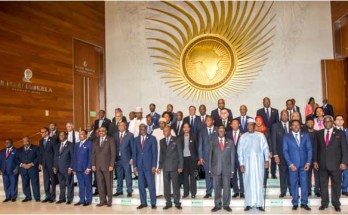 African leaders at the 29th AU Summit in Addis Ababa, Ethiopia
