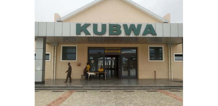 The entrance to the Kubwa substation