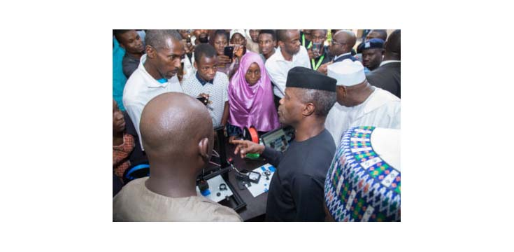Osinbajo charged Nigerian university students on entrepreneurship and innovation