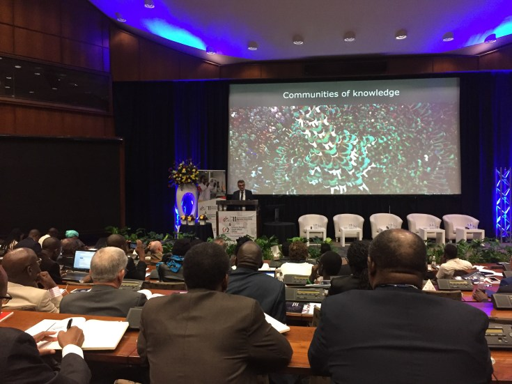 "The plenary during the eleventhgeneral assembly of the African Academy of Sciences (AAS) beganMonday in Pretoria, South Africa under the theme: ""Our history, impact and thefuture"""