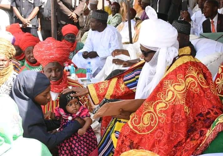 Day Emir Sanusi honored MNCH2's community-based volunteers