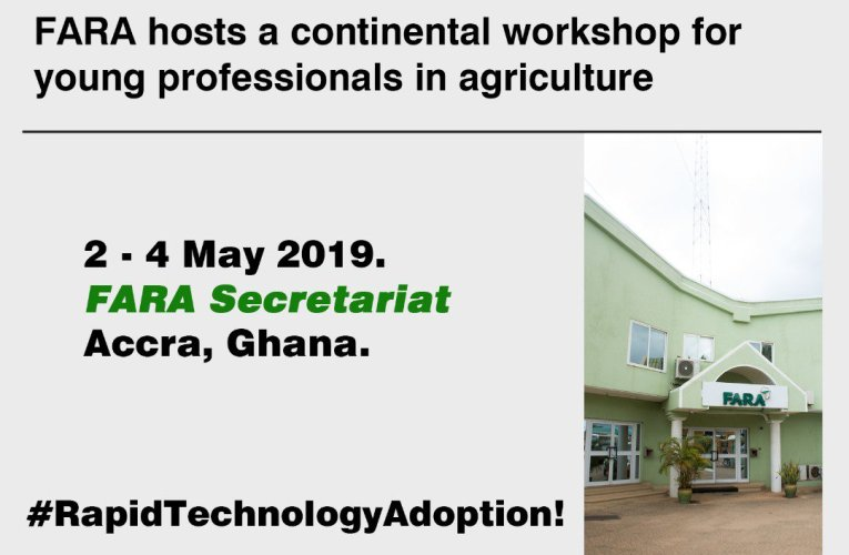FARA engages African youths on technology adoption in agri-prenuership