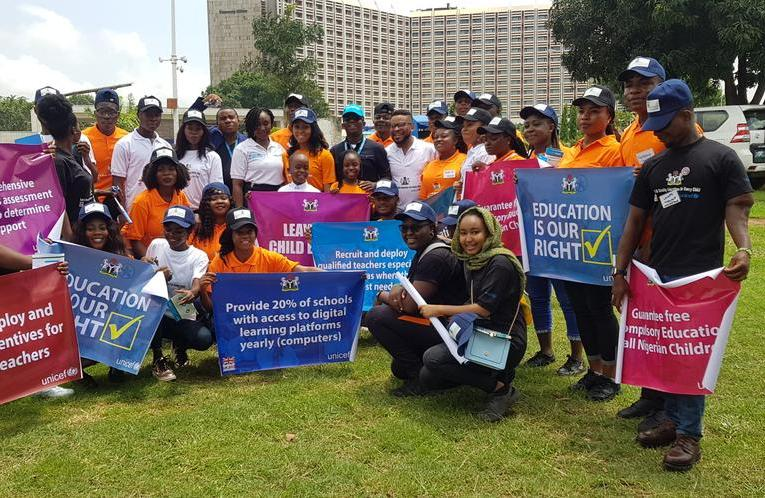UNICEF:Mobilizing Nigerian youths for increased access to safe, quality education for all