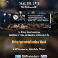 As AU readies for 2nd Africa Industrialization Week