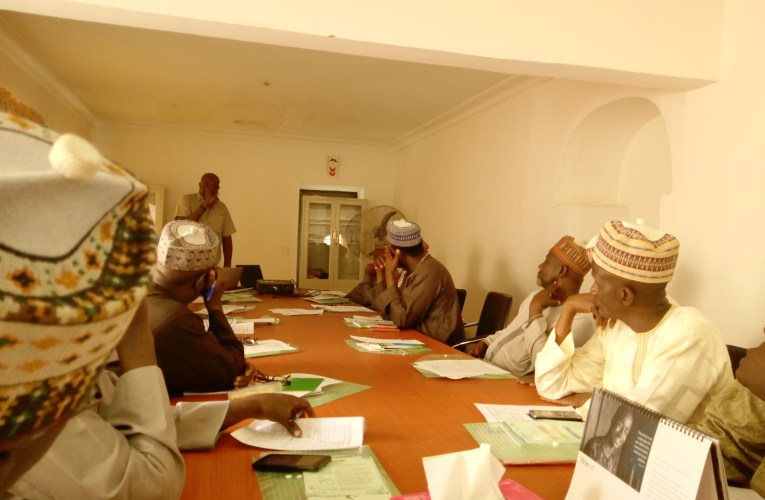 Kano SBCC committee for child birth spacing reviews progress